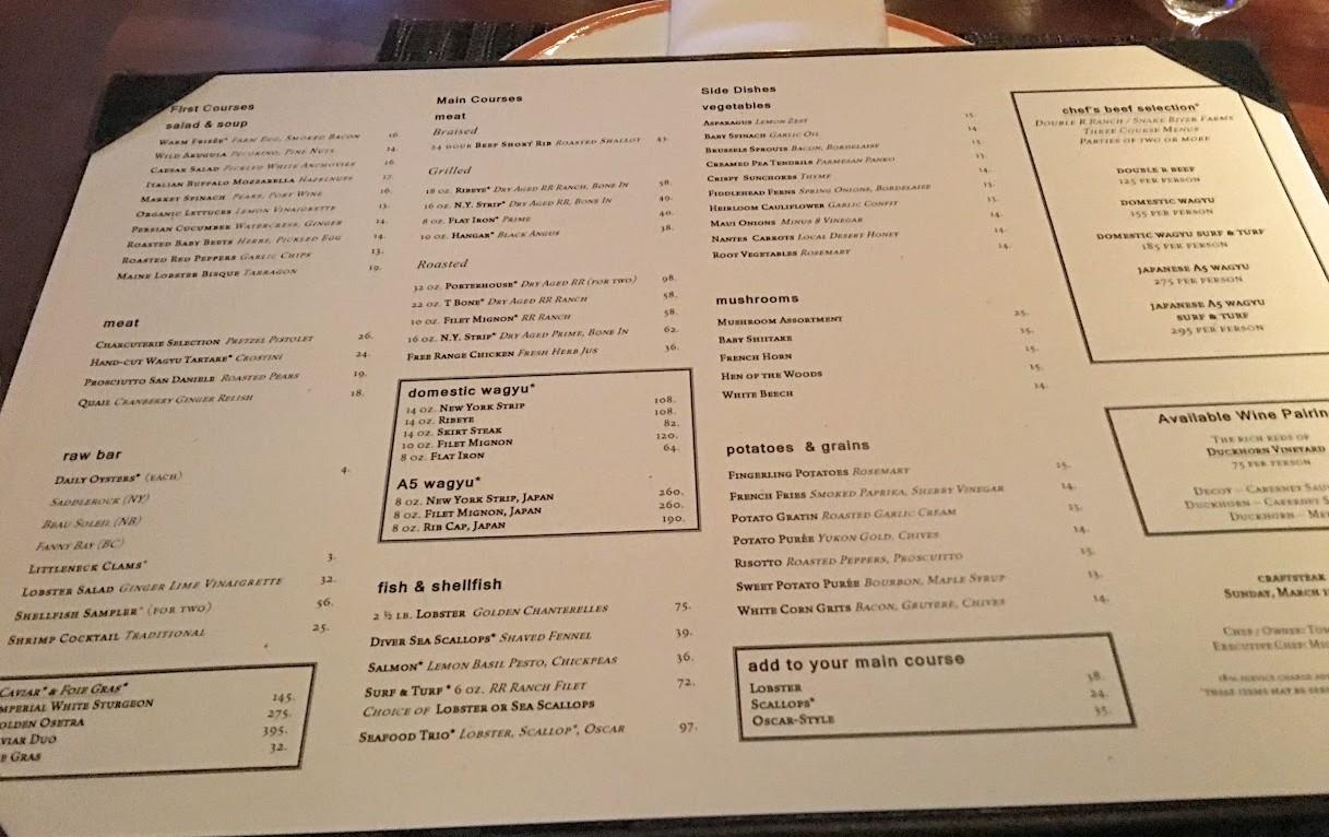 Craftsteak – Las Vegas – JayMoyLovesFood – I find things to eat and I eat them