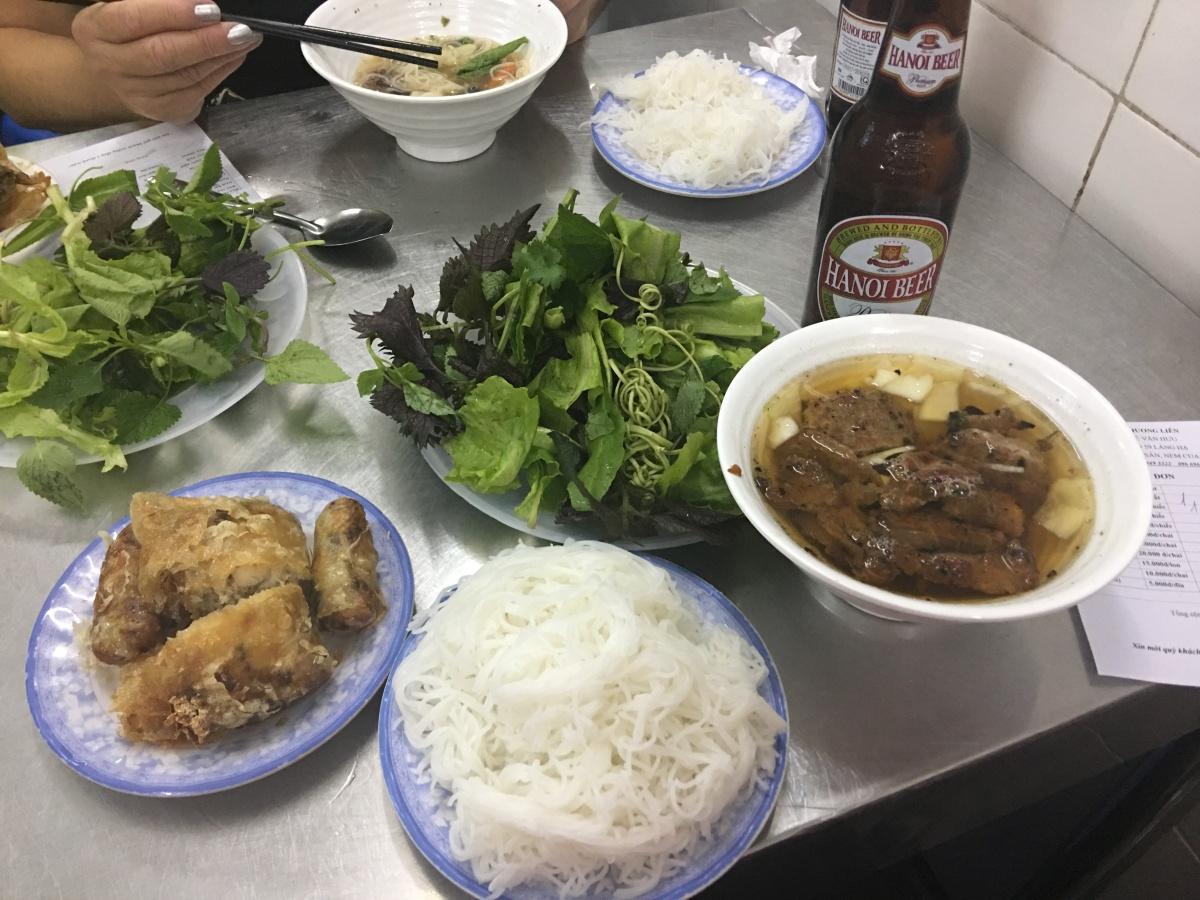 Bún chả Hương Liên – Hanoi